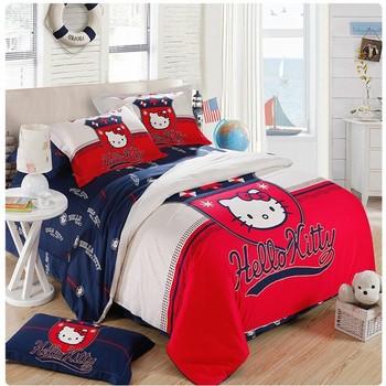 FREE SHIPPING  NEW Brand bedding  4pcs printed cotton bedding set/duvet cover / comforter set /bed  sheet bedspread