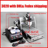 250W 3020 cnc router / cnc engraver / cnc engraving machine 110V/ 220V