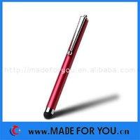 Capacitive Stylus Pen For Ipad 1/Ipad 2/Ipad 3/I9100/I9300/S5830 Tablets(STP-I002) 50pcs/lot With Retail Package Free Shipping