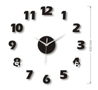 [funlife]- Free Shipping DIY 20-60cm (7.87-23.62in) Modern Art DIY Acrylic Circle Silent Wall Clock