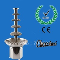 Free shipping 5 layers high-grade chocolate fountain