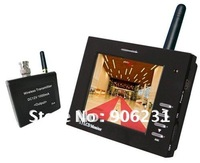 "High Quality!Free Shipping!2.4G 3.5""  Wired Wireless Monitor CCTV Tester"