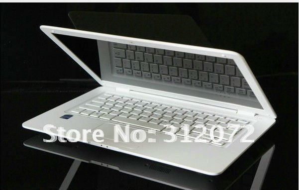 "1pcs/lot 14"" notebook/ laptop/14"" computer, dual core, 2G/160G, 1366x768, J1800,2.41GHZ ,1.3mega webcam, wifi/hdmi(China (Mainland))"