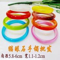 Free shipping,1.1-1.2cm Agate bracelet,2011Best selling bracelet wholesale,6pieces/lot,Multiple color choice.