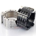 Free Shipping Mens 316l Stainless Steel Assemble Love Code Ring Finger Jewellry Fashion,Silver / Black to choose,Wholesale,WR060