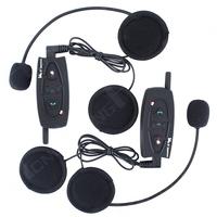 Bluetooth Helmet Intercom Interphone, 500M Bluetooth Intercom Motorcycle Headset Free shipping!2014 Updated New Version 2PCS
