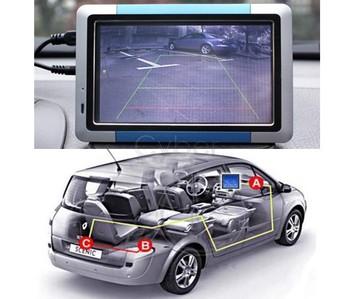 Vehicle Color View Max 170 Angle Backup Car Rear Camera Reverse E128