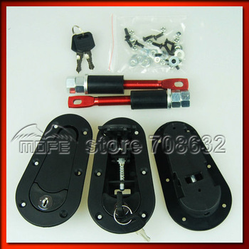 SPECIAL OFFER 5 SETS D1 Generation Plastic Plus Flush Kit Bonnet Hood Pin With Lock Key