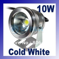 High Power Warm White Waterproof Flood LED Lamp Light  10W 12V Warm White/Cold White Free Shipping