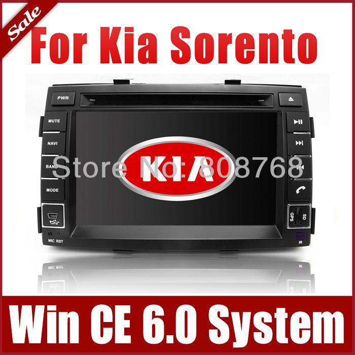 "7"" 2-Din Head Unit Car DVD Player for Kia Sorento 2010-2012 with GPS Navigation Radio Bluetooth TV USB Auto Stereo Audio Sat Nav(China (Mainland))"