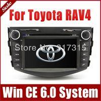 "7"" 2-Din Car Radio Car DVD Player GPS Navigation for Toyota RAV4 2006-2012 w/ Bluetooth TV USB SD AUX Map 3G Audio Video Stereo"