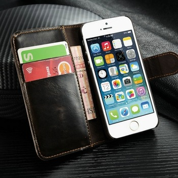Luxury Multi-fonction case for iphone 4s hybrid leather case for iphone 5g with card holder wallet style phone bags for iphone4