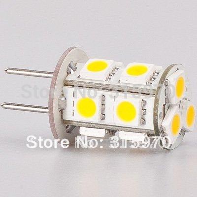 13 Led G4 Lamp 13LED 5050SMD G4 BULB 12VAC/12VDC/24VDC 260-286LM  MR11 MR16 Replacment Corn LED Bulb(Hong Kong)