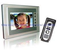 """The latest style 7"""" COLOR  handfree video door phone / video interphone doorbell"""