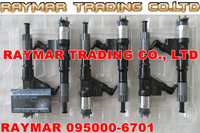 DENSO common rail injector 095000-6701,095000-6700 for SINOTRUK HOWO VG61540080017A