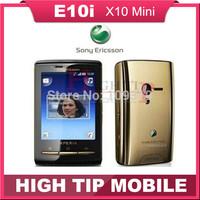 hot sell 100% Unlocked Original mobile phone E10 E10i Sony Ericsson Xperia X10 mini Singapore post free shipping Refurbished