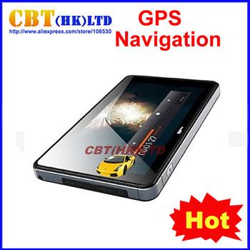 "7""  Car GPS Navigation + Bluetooth + AV-IN +FM +MP3 MP4 + 4GB memory + free Map"