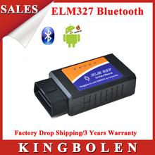 2014 nuevo caliente 3 años de garantía v1.5 elm 327 interfaz funciona en android par bluetooth elm327 obd2/obd ii coche escáner de diagnóstico(China (Mainland))