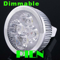 Dimmable led bulbs 4W MR16 Spotlight dimming Lighting Bathroom Home Ceiling lamp High Power DC12V Free Shipping 20pcs/lot