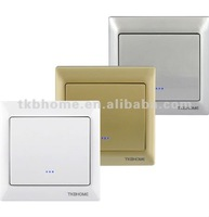 RF Controlled Z-Wave Single Wall Switch (4pcs/lot+3 color available )