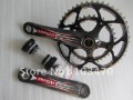YISHUNBIKE Bicycle Carbon Crankset 172.5*(53/39T)/172.5*(50/34T)
