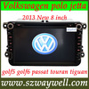 2013 New! 2 DIN Car DVD player for VW Volkswagen polo jetta golf5 golf6 passat touran tiguan GPS navigation with canbus