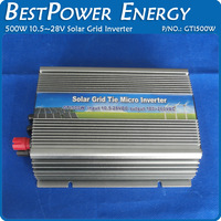 Hot Sell, Grid Tie 500W Pure Sine Wave Solar Inverter for PV Power 600W,DC10.5~28V to AC90~140V/180~260V Grid Tie Micro Inverter