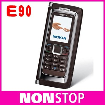 Hot sales E90 Original Nokia E90 WIFI GPS 3.2MP GSM PDA  Unlocked Mobile Phone Free Shipping One Year Warranty