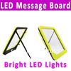 Free Shipping Romantic LED Illuminated Message Board WithSuper Bright LED Lights(0217109)(China (Mainland))