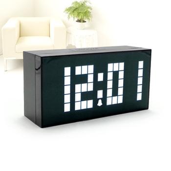 Large Big Jumbo Alarm Clock Backlight Bedroom Table Clock LED Digital Calendar Countdown Temperature Decoration Clock