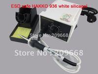 Free Shipping 220V ESD safe white silicagel handle HAKKO 936 HAKKO936 Soldering Station desoldering station rework station