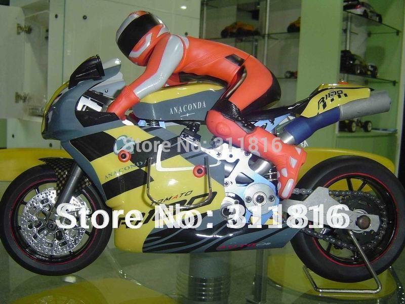 Popular toy! Free shipping,guarantee 100%, 1:5 scale professional high speed 15 engine power rc nitro gas motorbike GP5(Hong Kong)