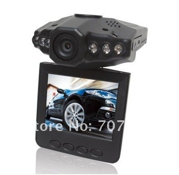On sale 26 Mar.   Dropshipping! quickly shipping!  Night Vision 6 IR LED 2.5 inch LCD black car dvr car camera car recorder