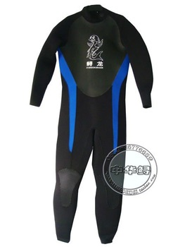 Sturgeon dragon  long sleeve  diving suit  neoprene  5MM full wetsuits CR material dive equipment  HIGH QUALITY FAMOUS BRAND