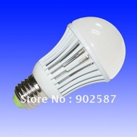 Free Shipping 15pcs/Lot 100lm/Watt COB A60 LED bulb with E27 E26 base (4W, 5.5W, 7W, 9W),CE ROhs  2 years warranty