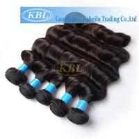 KBL good cheap weave remy 100% natural black hair brazillian body wave unprocessed 1b hair Virgin original remy hair extension