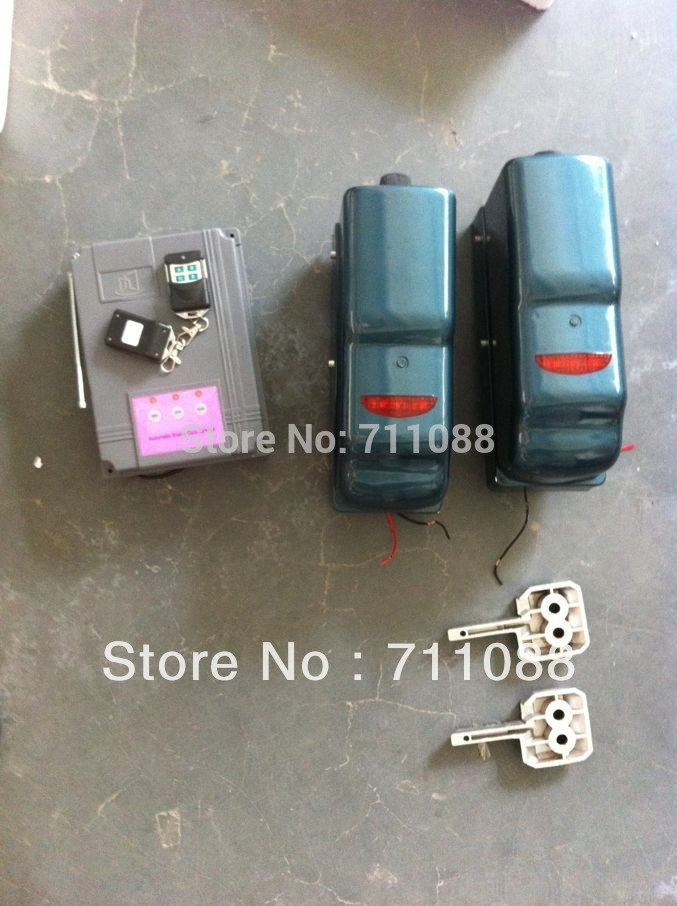 Free shipping automatic swing gate opener,swing gate operator LT-S8, with control board and remote control(China (Mainland))