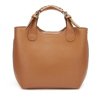 New designer Genuine Leather brand handbag lady's Shoulder bag Tote Messenger bag Model No. 1170142 Free Shipping