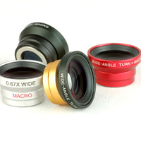 Factory high quality  moblie phone digital camera wide lens and  macro lens for iphone 4/4s,A-8001,10pcs/lot