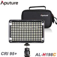 Bi-color Aputure Amaran AL-H198C LED Video Light Color Temperature Adjustment for DV Camcorder DSLR Cameras