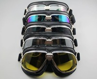 5pcs/lot Aviator Pilot Cruiser Motorcycle Scooter ATV Goggle Eyewear T11  motorcycle goggle