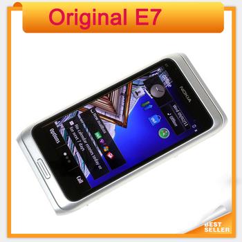 Fast Free Shipping Original E7 Nokia Mobile Phone Camera 8MP GPS WIFI 16GB Storange Nokia Smart Phone