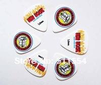 Free Shipping of 351 Standard Mixed printed Custom Colorful guitar picks 150 pcs/lot