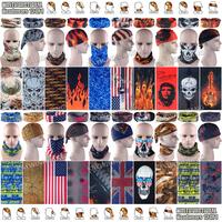 Free Shipping 10pcs/lot Fashion Multi Breathable Microfiber UV Seamless Tubular Skull Headwears Outdoor Multifunctional Bandana