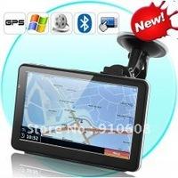 7 Inch Touchscreen GPS Navigator and DVR (4GB, Bluetooth, FM Transmitter)