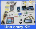 Electronic Project Starter Kit Uno Crazy kit RFID i2c lcd SD RTC 1307 EEPROM IR Matrix keypad Leds with Lesson and User Manuals