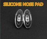 Free shipping,Silicone nose pads,very soft,eyeglasses part ,P-005