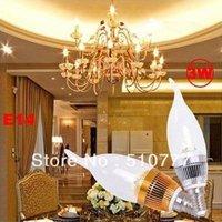 free shipping wholesale 3W E14/E27 Led Candle light