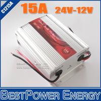 15A DC DC Converter 24V 12V, 180W Car Power Supply