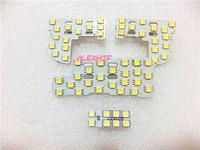 LED car interior reading lights, LED car decorative lights case for Honda CITY 2007~11 and JAZZ FIT 2009~11, 4pcs/set
